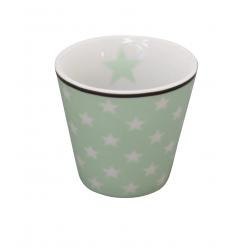 "Espressobecher: ""Minty Green Star"""