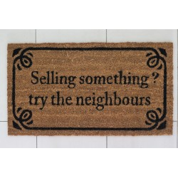 Fussmatte: Selling something? Try the neighbours