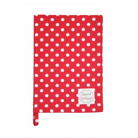 Küchentuch: Dots Red