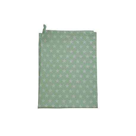 Küchentuch: Small Star Minty Green