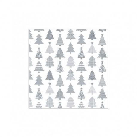 Servietten: Christmas Trees