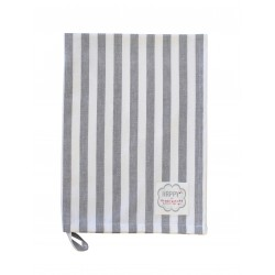 Küchentuch: Big Stripes Charcoal