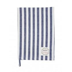 Küchentuch: Big Stripes Dark Blue