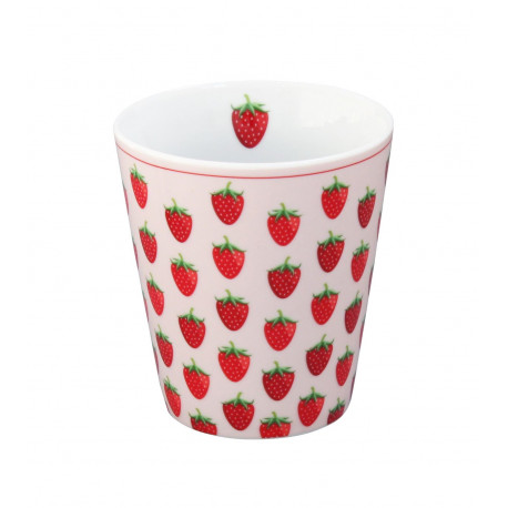 Becher: Strawberry