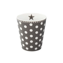 Becher: Dots Charcoal
