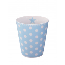 Becher: Dots Blue