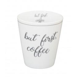 Becher: But first coffee