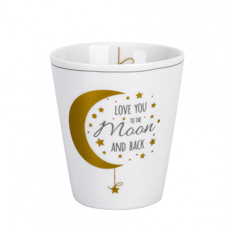 Becher: Love you to the moon and back