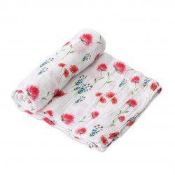 "Cotton Muslin Swaddle: ""Wild Mums"" von Little Unicorn"