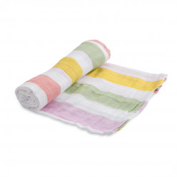 "Cotton Muslin Swaddle: ""Aspen Leaf"" von Little Unicorn"