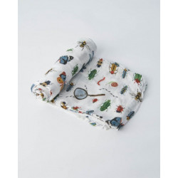 "Deluxe Muslin Swaddle: ""Bugs"" von Little Unicorn"