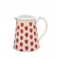 "Rahmkrug: ""Creamer Strawberry"""