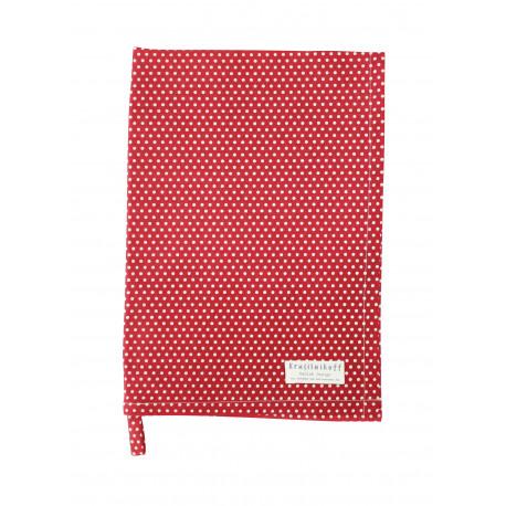 Küchentuch: Micro Dots Red