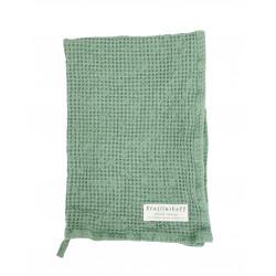 Waffeltuch: Dusty Green