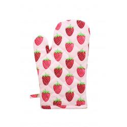 Backhandschuhe: Strawberry Pink