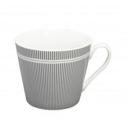 Tasse: Pinstripe Charcoal