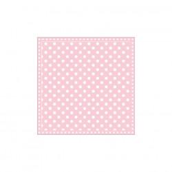 Servietten: Dots Pink