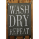 Küchentuch: Wash - Dry - Repeat