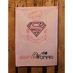 Küchentuch: Super Woman