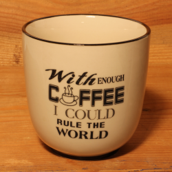 Becher: With enough coffee I could rule the world