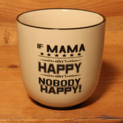 Becher: If mama ain't happy, ain't nobody happy
