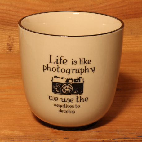 Becher: Life is like photography - we use the negatives to develop