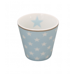 "Espressobecher: ""Light blue star"""