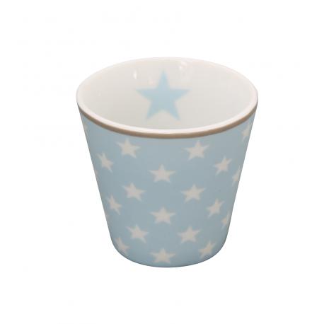 "Espressobecher: ""Light blue star"""