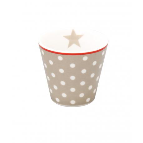 "Espressobecher: Krasilnikoffs ""Taupe Dot"""