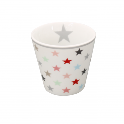 "Espressobecher: Krasilnikoffs ""Small Star Multicolour White"""