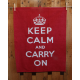 Küchentuch: Keep Calm and Carry On