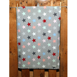"Küchentuch ""Big Star Multicolour Grey"""