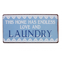 Magnet: this home has endless love and laundry