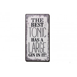 Magnet: The best tonic has a large gin in it!