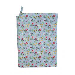 Küchentuch: Blue Mille Fleur