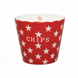 "Schüssel ""Chips Red"""