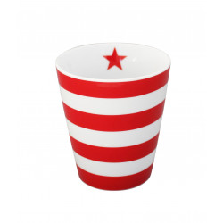 "Becher: ""Stripes Red"""