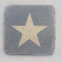 Untersetzer Blauer Stern