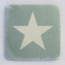 Untersetzer Big Star Green