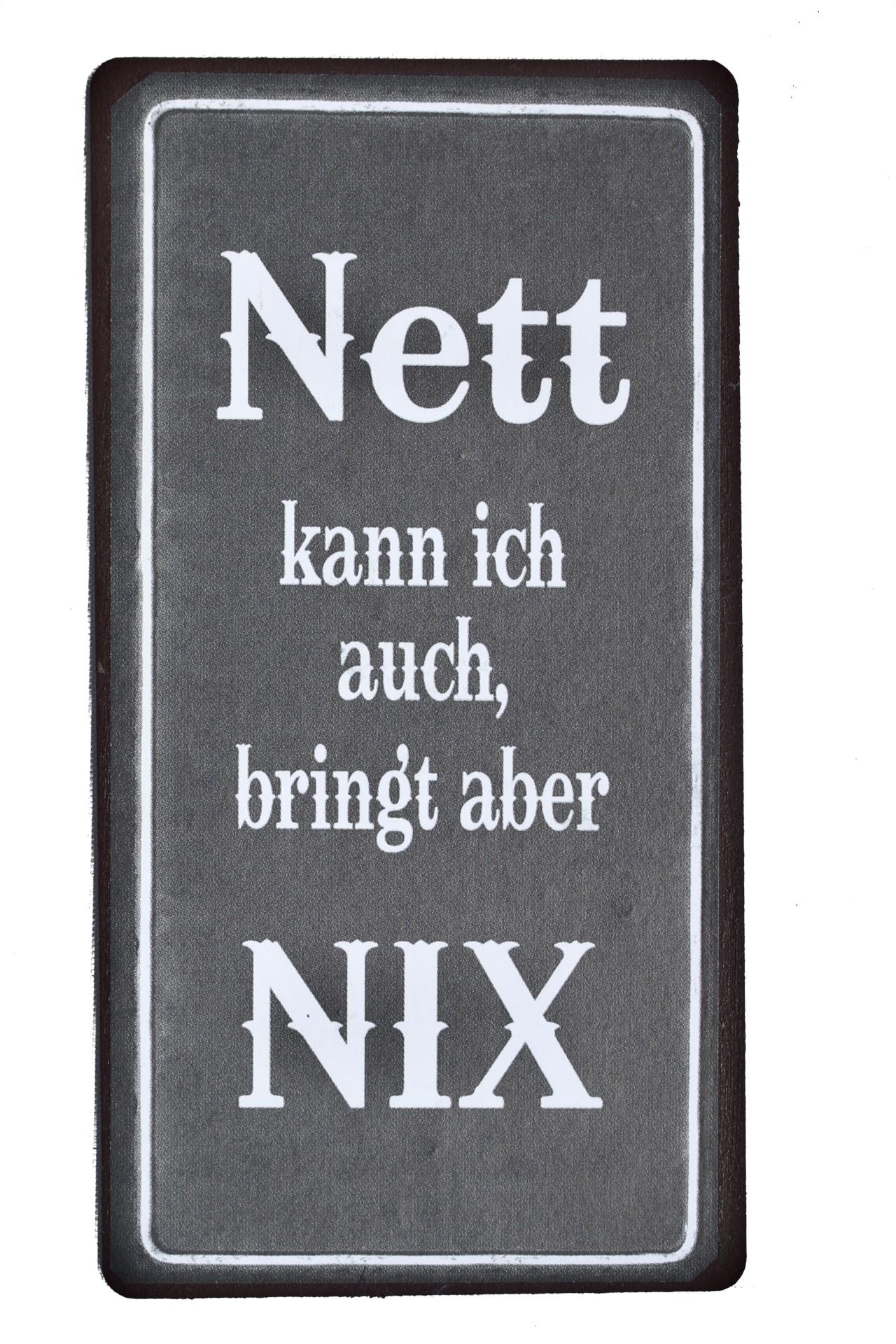 Magnet Nett Kann Ich Auch Bringt Aber Nix Plus Minus Shop