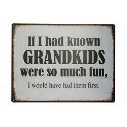 If I had known grandkids were so much fun, I would have had them first