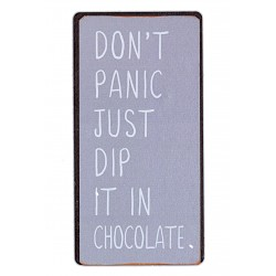Don't panic - just dip it in chocolate