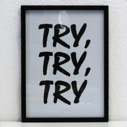Bild: Try, Try, Try!